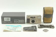 【 Exc +5 w/ Case 】 Contax TVS D Data Back 35mm Film Camera From JAPAN #8902