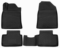 Passform  Fußmatten für HYUNDAI i30 III PDE 2017-2020, 4-teilig 3D Gummimatten