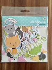 "Doodlebug Odds & Ends ""Kitten Smitten"" Ephemera - 88 Teile"