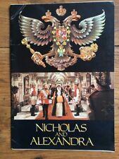 NICHOLAS AND ALEXANDRA avec JANET SUZMAN MICHAEL JAYSTON de SAM SPIEGEL Synopsis
