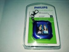 Phillips Digital Photo Keychain 1.5 LCD Screen Electric Purple