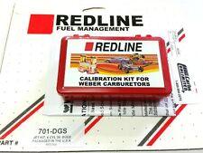 Redline Jet Kit fits 38mm DGES DGAS Weber carburetor