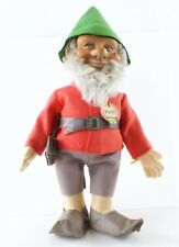 "Pucki Gnome Elf Troll Original With All Buttons And Tags 730,3 12"" Vintage 1950s"