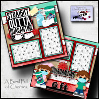 Tooth Fairy Boy Title  for premade scrapbook pages album or cards by Rhonda