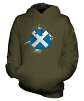 SCOTLAND FOOTBALL UNISEX HOODIE TOP GIFT WORLD CUP SPORT