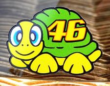VALENTINO ROSSI Helmet visor decal sticker TURTLE 2016  FANTASTIC OFFICIAL SIZE