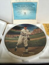 1993 Walter Johnson The Shutout Plate A Delphi Original Hand Numbered