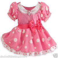 Neuf Disney Store Minnie Mouse Bébé Filles Déguisement Costume Déguisement