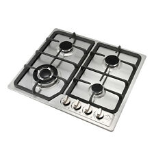 23inch Fashion Stainless Steel 4 Burner Gas Hob NG/LPG Cooktops Battery Ignition