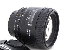 Nikon AF Nikkor 85mm 1.8 D Objektiv Vollformat Gewährleistung 1 Jahr
