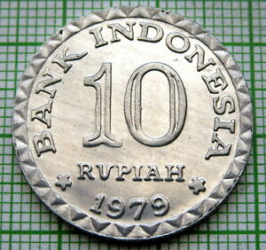 INDONESIA 1979 10 RUPIAH, FAO SERIES, UNC