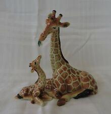Franz Porcelain Endless Beauty Collection Giraffe & Baby FZ00478/FZ00486- Signed