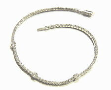 925 SILVER BRACELET TENNIS ALTERNATING