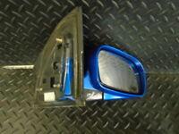 2004 HONDA CIVIC 1.6 i-VTEC SE 3DR DRIVER SIDE WING MIRROR ELECTRIC BLUE