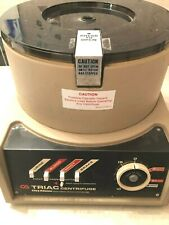 Clay Adams Triac 0200 Centrifuge 8 Slot Rotor 4 Trunnion Rings Urine Blood MHCT