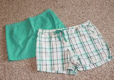 """LOT OF 2 * NATURAL REFLECTIONS Plus 24W WALKING SHORTS (6"""" Inseam) New w/o Tags"""