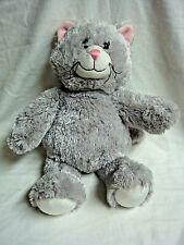 "15"" Plush Gray Kitty Cat by Build A Bear"