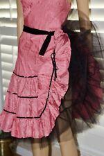 ~VTG Betsey Johnson  Ruffle  Cocktail Party Full Skirt  Dress Size 8