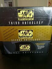 Star Wars CCG Empty First Second And Third Anthology