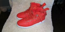 NIKE SF AIR FORCE 1 MID TEAM ORANGE SIZE 10