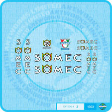 Somec Bicycle Decals - Transfers - Stickers - Set 2