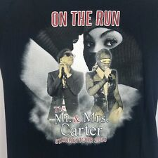Beyonce Jay-Z 2014 On the Run Tour Concert Graphic T Shirt