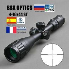Riflescope Tactical Optic Green Red Sight Illuminated Hunting Sniper Rifle Scope