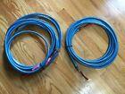 Straight Wire Rhapsody II Speaker Cables - 28' & 22' Spade Audiophile Nice!!!