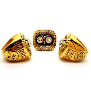 1975 Pittsburgh Steelers Championship ring NFL
