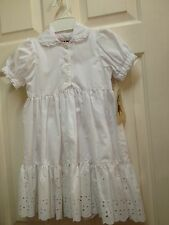 NWT PETTICOAT DRESS Cotton EYELET Spring Summer BEACH PHOTO Beets N Snips 2 4