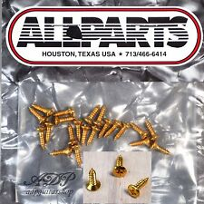 20 VIS PICKGUARD format GIBSON 2,5 x 10 mm SG screws GOLD