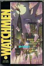 WATCHMEN DC COMICS RARE HARDCOVER HC w/ DJ ALAN MOORE 1987 DAVE GIBBONS ART 1-12