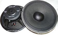 "38cm 15"" Soundlab PA BASS Altavoz 380mm ALTAVOZ GRAVES l041f"