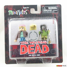 The Walking Dead Minimates figures Carol Pole Zombie Toys R Us exclusive