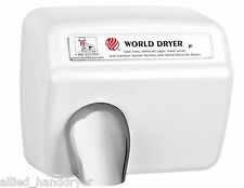 WORLD DXA54 (208/230V)Hand Dryer w/ Stamped Steel Cover