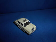 GERMAN Beige MERCEDES TAXI CAB BERLIN Small Plastic Toy Car Kinder Surprise