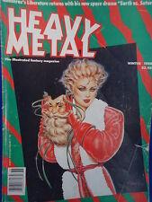 HEAVY METAL illustrated fantasy Magazine WINTER 1988 Ranxerox Liberatore RUBIO