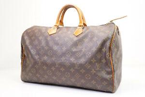 Auth Pre-owned Louis Vuitton  Monogram Speedy 40 Duffle Bag M41522 M41106 210221
