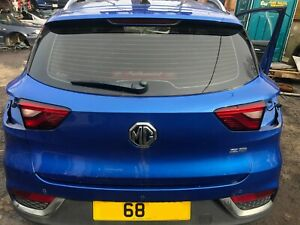MG ZS EXCITE 2018 COMPLETE REAR TAILGATE HATCH BOOTLID 5JSJ LASER BLUE