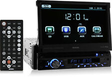 "SoundStorm SD726MB Single-DIN DVD Bluetooth Car Stereo w/ Flip-Out 7"" Screen"