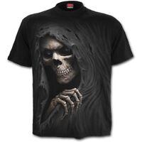 SPIRAL GRIM RIPPER T-Shirt Goth/Rock/Halloween/Grim Ripper/Death/Bones/Xmas/Tees