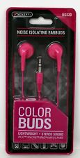 Sentry Noise Isolating Color Buds Pink