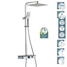 Duscharmatur Duschsystem mit Thermostat Regendusche Mischbattrie Dusche Duschset
