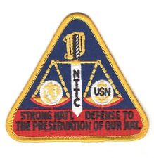 USN Patch Patch:  Naval Technical Training Center