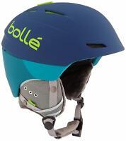 Bolle Millenium Outdoor Skiing Helmet Soft Blue/Green 54-58 cm $169