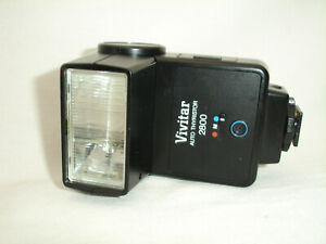 VIVITAR 2800 Flash, shoe mount, GUC 3036455