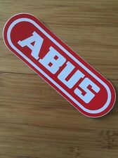 ABUS -  Bicycle Sticker/Decal