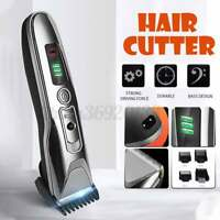 Rechargeable Electric Digital Display Razor Shaver Cordless Hair Trimmer Clipper