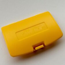 ✨New Game Boy Colour Yellow Replacement Battery Cover - With Logo! GBC UK✨