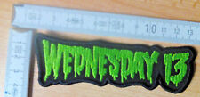 Wednesday 13 RARE Survêtement Shape Patch Misfits The Fascination TSOL Blitzkid Zombies